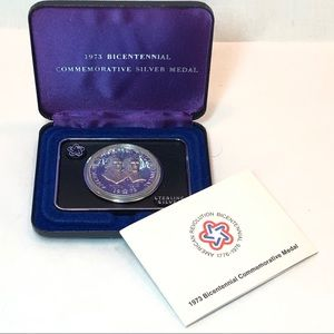Bicentennial Commemorative Sterling Medal